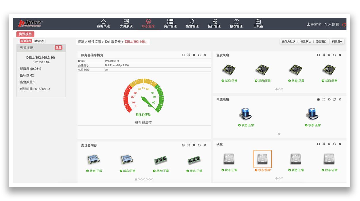 服务器硬件监控